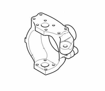 Поворотный кулак 129966