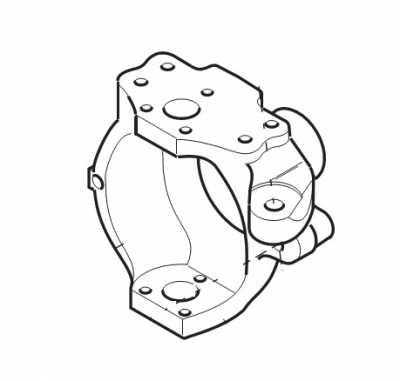 Поворотный кулак 149146